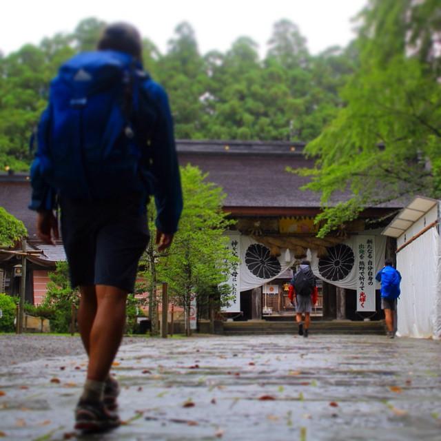 辿り着く。熊野本宮へ day03%0A#大峯奥駈修験道 #fastpacking #世界遺産 #worldheritage #熊野本宮