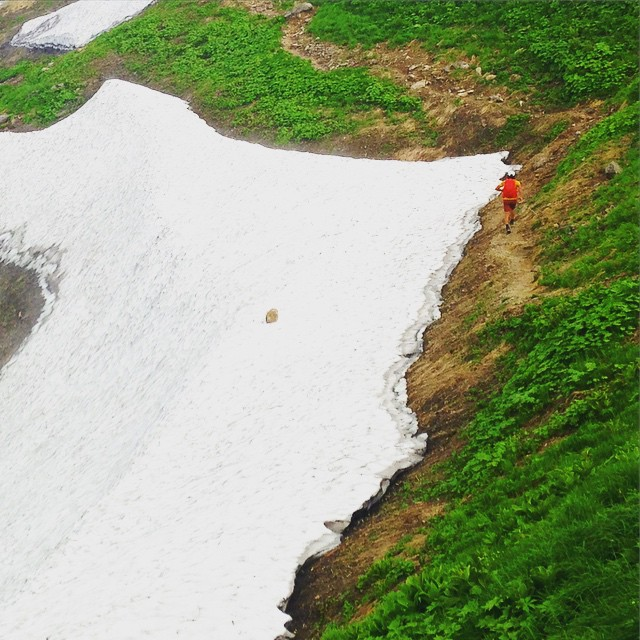 #Fastpacking #japanmountains #MtIide #Trailrunning